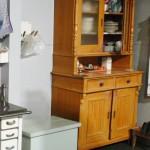Diseño interior con muebles antiguos