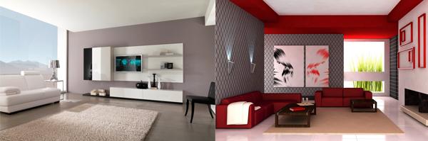 C mo pintar el sal n comedor colores para pintar un sal n for Pinturas para interiores colores modernos