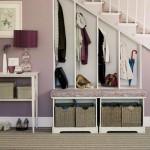 El recibidor de la vivienda y sus muebles