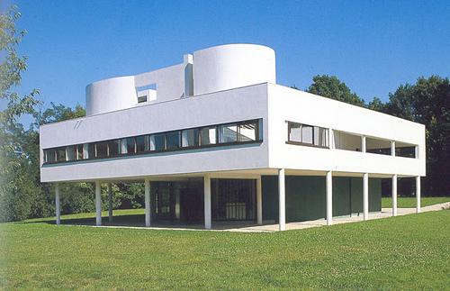 Arquitectura racionalista villa saboya de le corbusier for Arquitectura racionalista