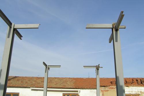 Estructura met lica en arquitectura de vivienda - Estructura metalica vivienda ...