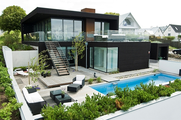 Dise os de casas aisladas planta de casas y planos for Diseno de casa de 5 x 10