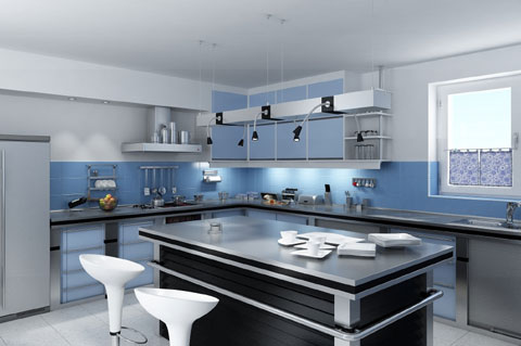 Decoración de cocinas y domótica