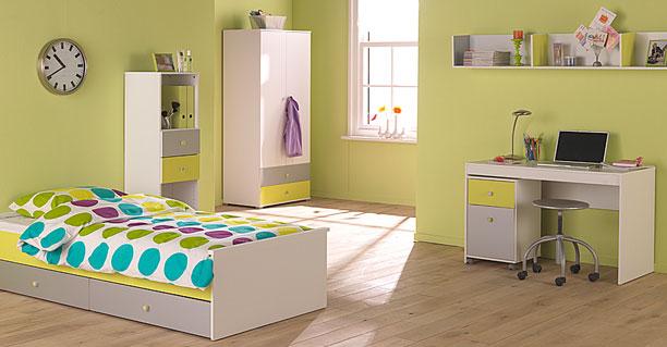 zonas del dormitorio infantil