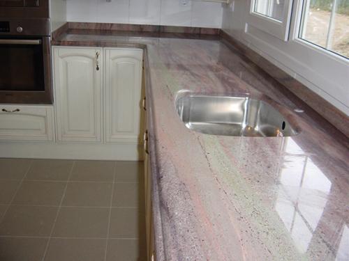 Encimeras de cocina de marmol