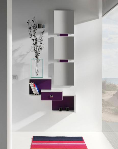 Mueble recibidor muebles para recibidores modernos - Mueble entrada casa ...