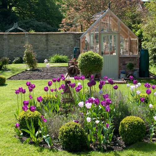Dise o de jardines r sticos c mo dise ar un jard n en la casa de campo - Diseno de jardines rusticos ...