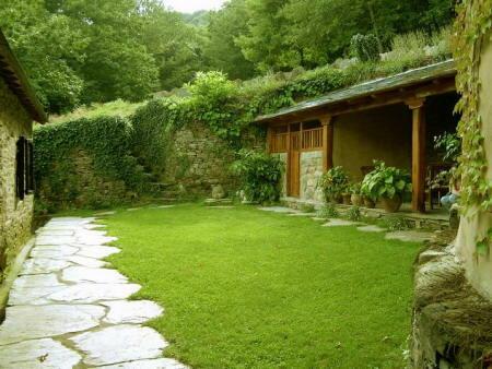 Dise o de espacio exterior el jard n de la vivienda for Diseno jardines exteriores 3d gratis