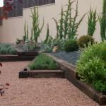 Pavimentos del jardín