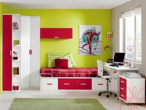 Dormitorios juveniles c mo decorar un dormitorio juvenil for Diseno de interiores cuartos
