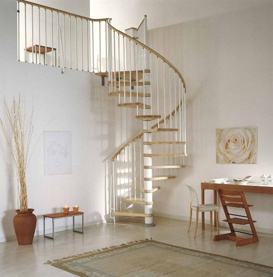 escalera de caracol liviana