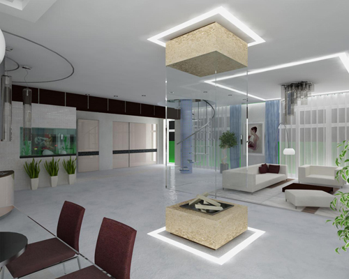 Estilo decoraci n qu es high tech imagen y dise o - Arquitectura de interiores universidades ...