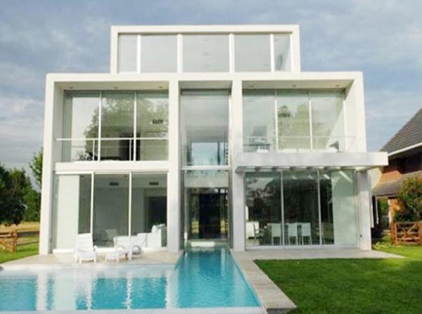 Dise os de casas aisladas planta de casas y planos for Planos casa minimalista 3d