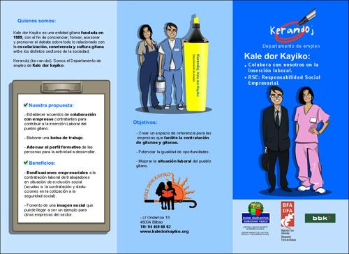 diseño publicitario folletos
