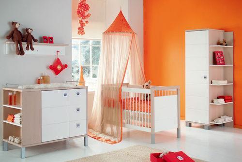 decoración de habitación de bebé