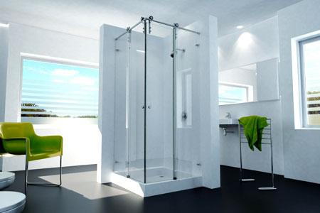 los diseños de mamparas de ducha