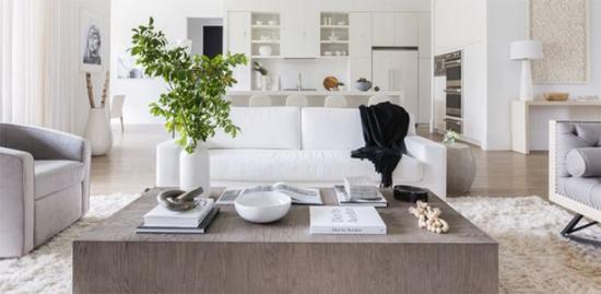 muebles para salones blancos