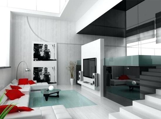 Casas modernas por dentro dise o de casas modernas for Decoracion interior de casas minimalistas
