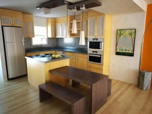 cocinas pequeñas con islas de cocina