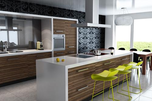 plano de cocinas